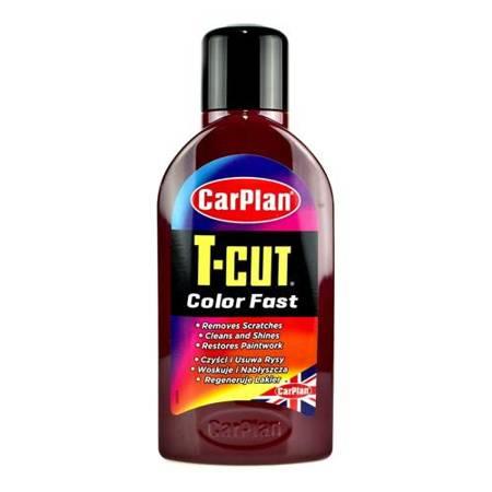 CarPlan T-CUT Color Fast - wosk koloryzujący Bordowy 500ml