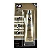 K2 Szary silikon wysokotemperaturowy do 350°C tubka 85g