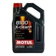 Motul 8100 X-clean+ C3 5W/30 - 504.00 - 507.00 - 5l