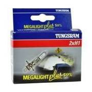 Żarówka samochodowa H1 Tungsram MegaLight Plus 50% - 2szt