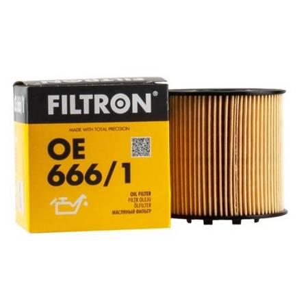 FILTRON filtr oleju OE666/1 - Renault, Opel  2.2dci 00->