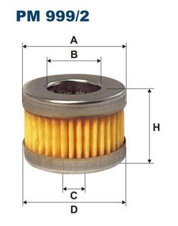 Filtr do instalacji gazowych  PM 999/2 - LANDI
