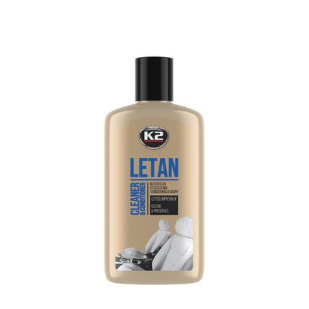 K2 Letan mleczko do czyszczenia i konserwacji skóry 200g