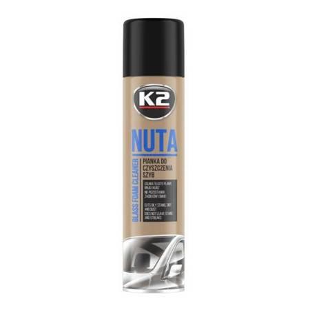 K2 Nuta pianka do mycia szyb samochodowych 600ml