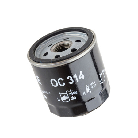 Knecht filtr oleju OC314 -  VW Lupo, Skoda Fabia 1,0 10/99-8/00