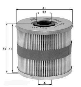 Knecht filtr oleju OX379D -  VW/SEAT/SKODA /AUDI 2.0 FSI 05.03-