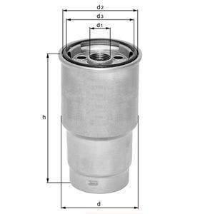 Knecht filtr paliwa KL160/1 - BMW E39/46/53, 330/520/530/X5, M47D20/M57D20/M57D30, 99->