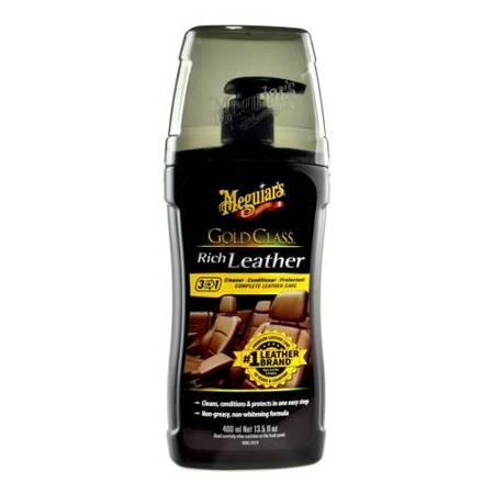 Meguiars Gold Class Rich Leather Cleaner&Conditioner mleczko do czyszczenia i konserwacji skóry 400ml