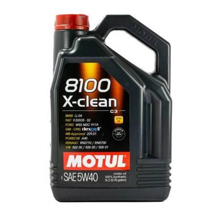 Olej silnikowy Motul 8100 X-clean C3 5W/40 5L