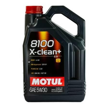 Olej silnikowy Motul X-clean+ C3 504.00/507.00 5W/30 5L