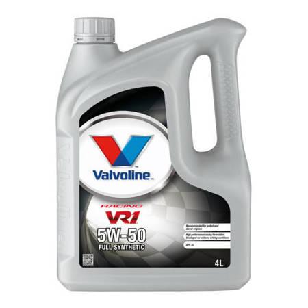 Olej silnikowy Valvoline VR1 Racing 5W/50 4L