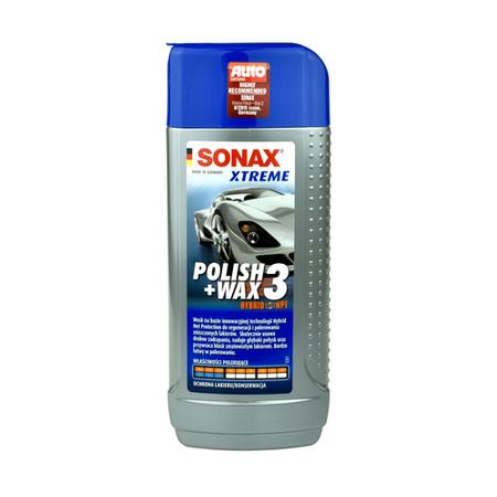 Sonax Xtreme Polish+Wax 3 Hybrid NPT- wosk do starych i zniszczonych lakierów 250ml