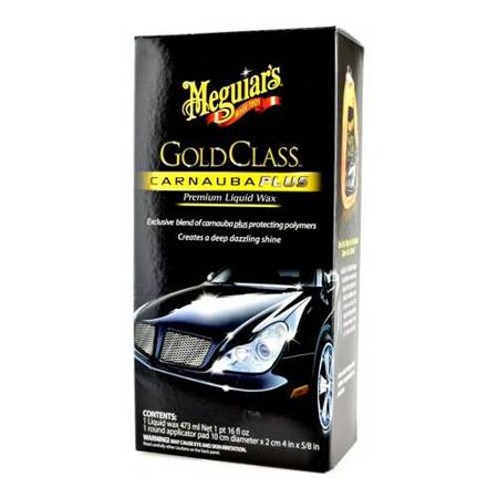Wosk do lakier uw mleczku Meguiar's Gold Class Carnauba Plus Premium Liquid Wax 473ml