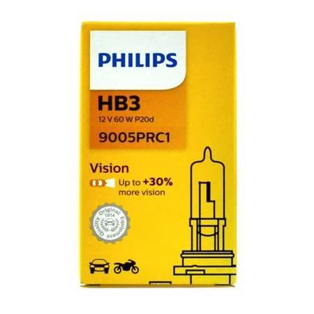 Żarówka HB3 65W Philips Vision +30% - 1szt